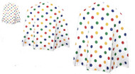 Childs Toddler Superhero Polycotton Cape Children in Need CIN Spots UK