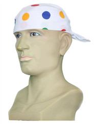 Childs Size - Multi-Coloured Polka Dot Children in Need Bandanna CIN