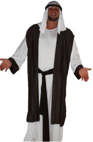 Adults Deluxe Grey Arab Wise Man Costume Christmas Nativity Shiek Fancy Dress