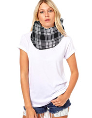 Unisex Adults Erksine Tartan Snood Burns Night Fancy Dress Accessory