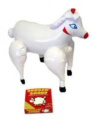 "Inflatable 21"" Farmer Bonkin' Sheep Stag Night Farmyard Animal Fancy Dress Prop"