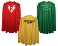 "Adults Custom Printed 35"" Super Hero Cape Corprate Promotional Event Team Building Capes"