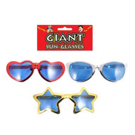 Adults Jumbo Comedy Clown Glasses Sunglasses Specs Fancy Dress Eyewear
