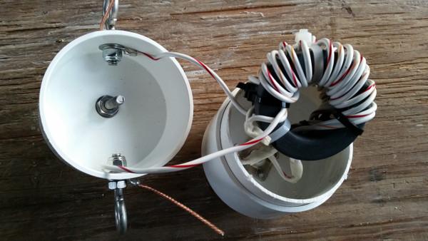 OCF  Windom Dual core  Current balun  3KW Flex Weave