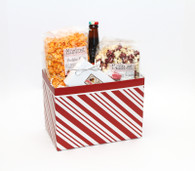 Peppermint Gift Basket Box