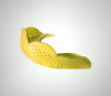 Sunny Yellow SISU Aero Team Sports Mouthguard