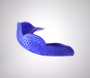 Royal Blue SISU Aero Team Sports Mouthguard