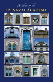 """Windows of the US Naval Academy"" (11"" x 17"" print)"