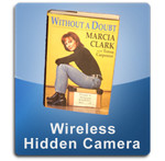 Hollow Book Wireless 1000 Hidden Spy Cameras  -  BOOK-1000