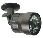 Color Switching Outdoor High Res Night Vision Bullet Security Camera IR50