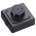 Color Indoor Square Security Camera with Pinhole Lens