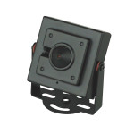 Color Indoor Square Security Camera with Pinhole Cone Lens