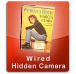 Book Wired Series Hidden Nanny Camera  -  BOOK-WIRED