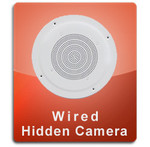 Ceiling Speaker Wired Series Hidden Nanny Camera  -  CEILINGSPEAKER-WIRED