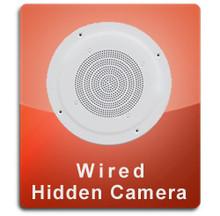 Ceiling Speaker Wired Series Hidden Nanny Camera  -  CEILINGSPEAKER-WIRED