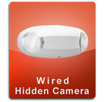 Emergency Light Wired Series Hidden Nanny Camera  -  ELIGHT-WIRED
