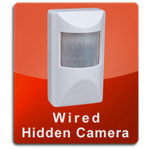 Motion Detector Wired Series Hidden Nanny Camera  -  MOTION-WIRED