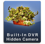 Silk Plant DVR Series Hidden Nanny Camera  -  PLANT-DVR