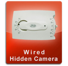 Wired Series Thermostat Hidden Camera  -  THERMOSTAT-WIRED