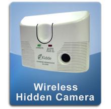 Carbon Monixde Detector Wireless 1000 Hidden Spy Camera  -  CMOX-1000