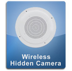 Ceiling Speaker Wireless 1000 Hidden Spy Camera  -  CEILINGSPEAKER-1000