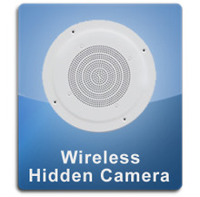 Ceiling Speaker Wireless 1000 Hidden Spy Camera  -  CEILINGSPEAKER-1000