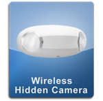 Emergency Light Wireless 1000 Hidden Spy Camera  -  ELIGHT-1000