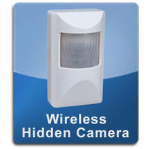 Motion Detector Wireless 1000 Hidden Spy Cameras  -  MOTION-1000