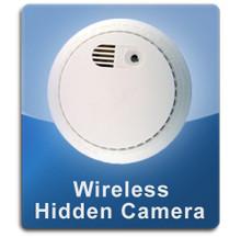 Smoke Detector Wireless 1000 Hidden Spy Cameras  -  SMOKE-1000