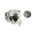 Color Outdoor High Res Mini Vandal Resistant Security Camera Dome