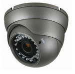 Color Switching Outdoor High Res Vandal Resistant Night Vision Zoom Security Camera