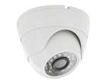Color Switching Indoor High Res Night Vision Mini Security Camera Dome