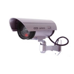 Simulated Outdoor Security Camera