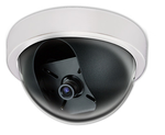 Color Indoor Hi Res Security Camera Dome White