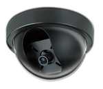 Color Indoor Hi Res Security Camera Dome Black