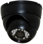 System Camera Style C - Color Switching Outdoor High Res Mini Night Vision Security Camera Dome Black