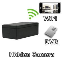 Black Box Project Box DIY WiFi DVR Hidden Camera Spy Camera Nanny Cam