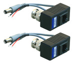 1 Channel Video Balun Set - 12VDC/Video/Data (PTZ) - 1000 ft Range