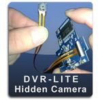 DVR LITE Series Do It Yourself Hidden Camera Kit with DVR