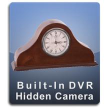 Mantle Clock DVR Series Hidden Camera Spy Camera Nanny Camera