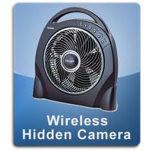 Wireless Fan Hidden Camera Spy Camera Nanny Cam