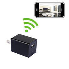 USB Charger Hidden Camera with Built-in DVR and WiFi 640x480