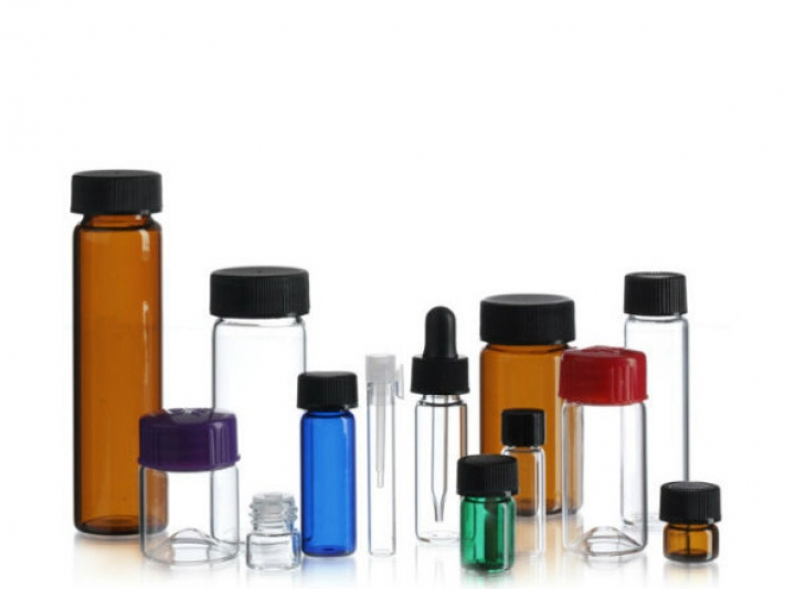 "Group of Continuous Thread ""CT"" Vials"