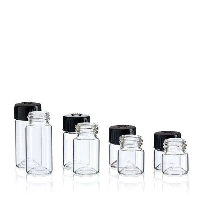 23 mm Wide Mouth Vials