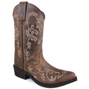 Smoky Mountain Boots Kid's Jolene Brown Cowboy Boot