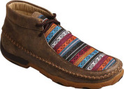 Women's Twisted X Multi Pattern (Serape)  Driving Mocs WDM0096