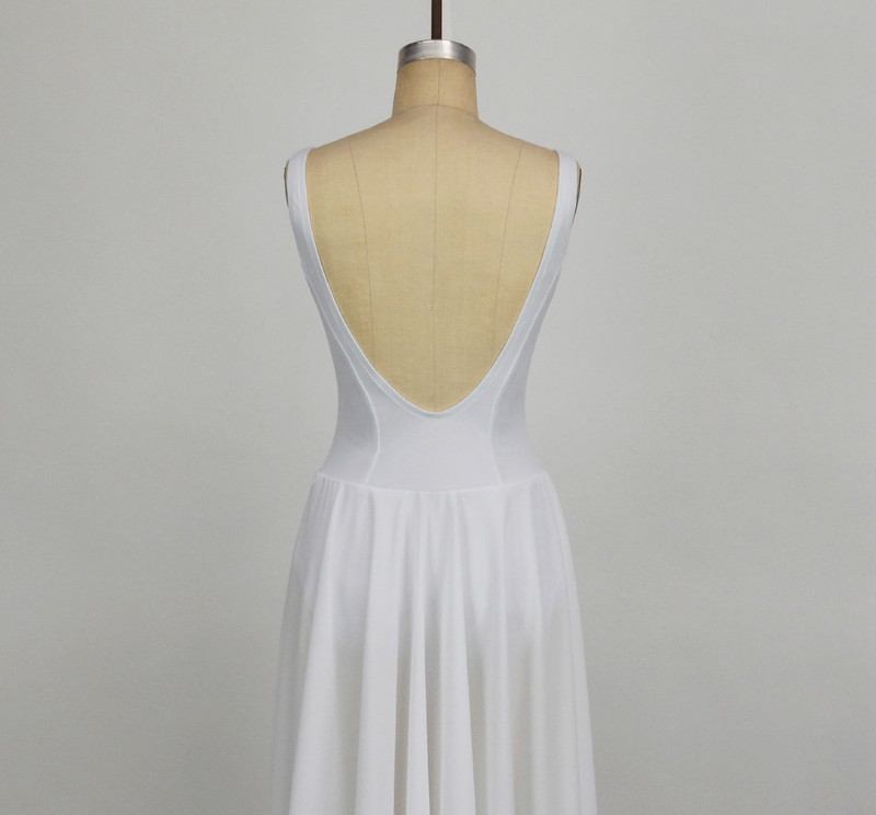 Conservatory C204 Ballet Dress Low Back