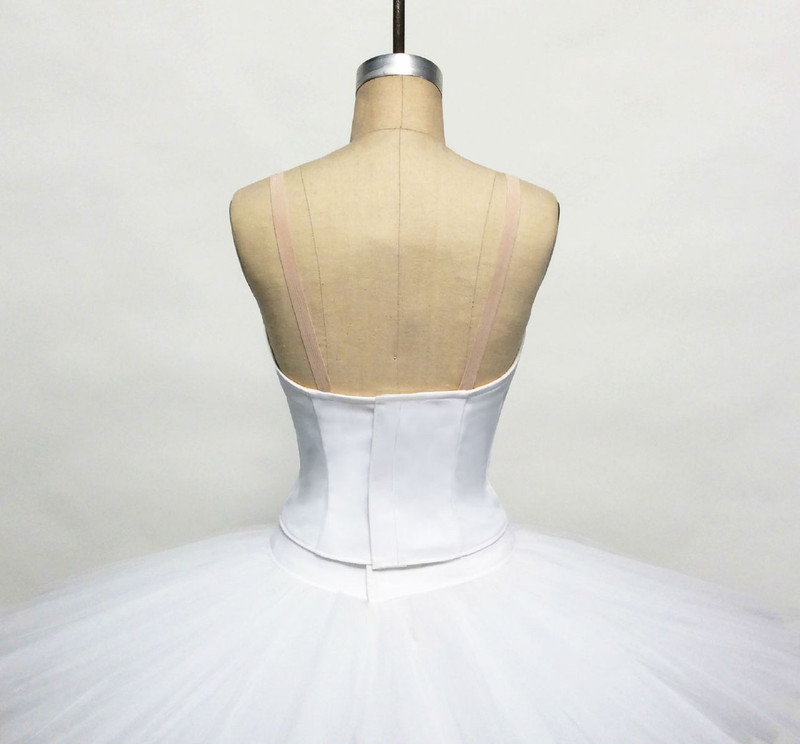 Conservatory C500 bodice back view