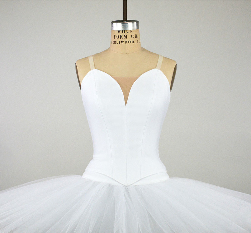 Conservatory C500N bodice with C700 classical tutu