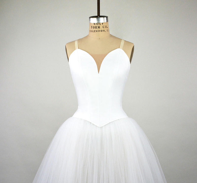 Conservatory C500N bodice with C600 romantic tutu